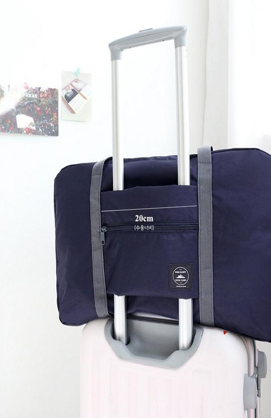 b8ccf7c993f2 Складная сумка для путешествий Синяя